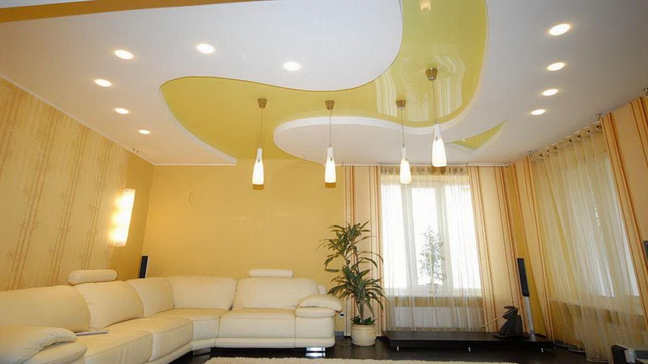 Многоуровневые потолки дизайн